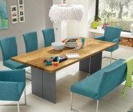 Modern Dining Rooms Turquoise Dining Set Unique Lamp