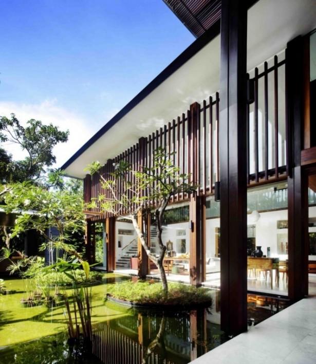 Modern Landscaping Traditional Modern House Serene Sun House