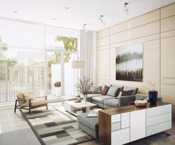 Modern Neutral Living Room Decor Ideas Contemporary Living Rooms