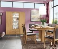 Modern Purple Dining Room Modern Dining Rooms Grey Floor