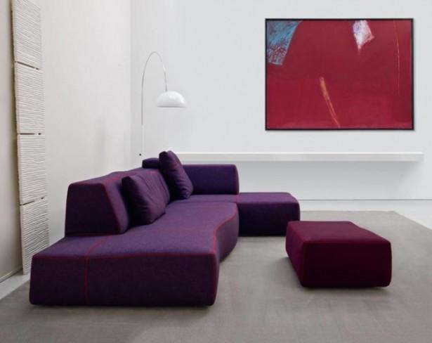 Modern Purple Sofa Modern Sofa Ideas Simple Lamp