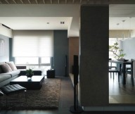 Modern Semi Minimilist Design Living Room Side View One