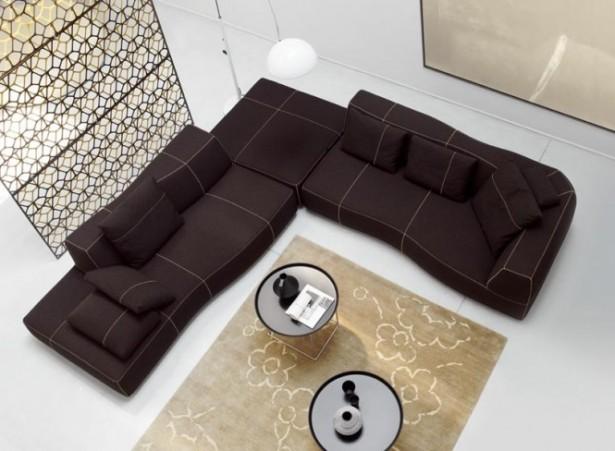 Modern Sofa Ideas For Black Sectional Sofa Design