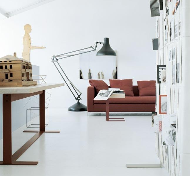 Modern Sofa Ideas For Contemporary Living Room Black Lamp
