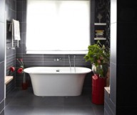 Modern Victorian Home For Bathroom White Bath