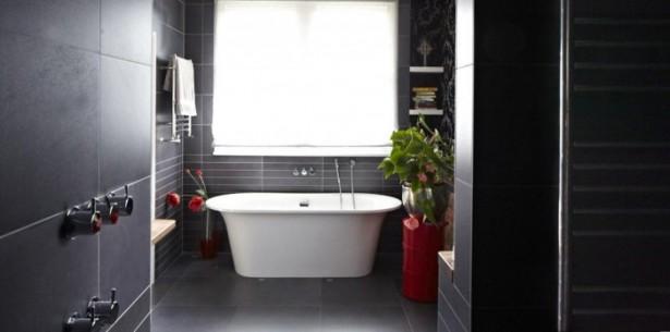 Modern Victorian Home For Bathroom White Bath