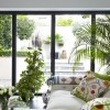 Modern Victorian Home For Living Room Plant Pot Glass Window
