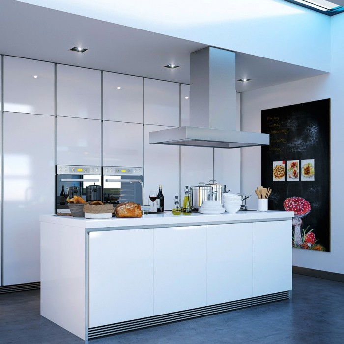 Modern White Kitchen Island Kitchen Island Designs Grey Floor