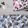Multicolored Tile Backsplash