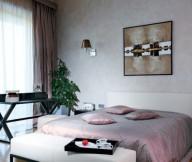 Neutral Bedroom Scheme Brown Curtain Artistic Interior Renders