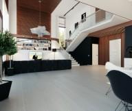 Open Plan Home Design Unique Lamp Modern Living Rooms