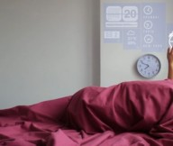 Openarch Smart Home Alarm Clock Red Blanket