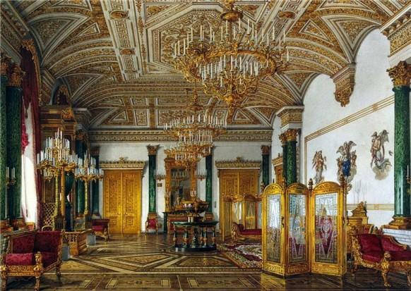 Ornate Opulent Russian Palace 18th Century Ornate Opulence
