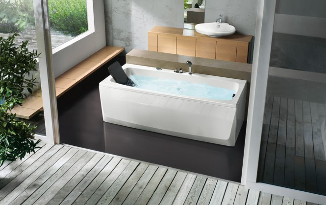 Rectangular Bathtub With Head Rest Beautiful Bathtubs Design