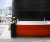 Red And White Bathtub Beautiful Bathtubs Design
