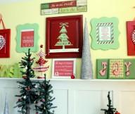Retro Christmas Mantel Decor Mantel Decor Inspiration White Wooden Cabinet