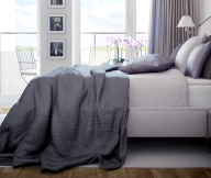 Scandinavian Style City For White Grey Bedroom