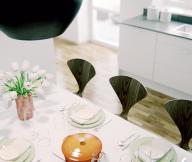 Scandinavian Style City For White Kitchen Diner Design