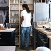 Small Space Living Kitchen Storage Black Drawers