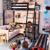 Small Space Living Loft Bed Frame