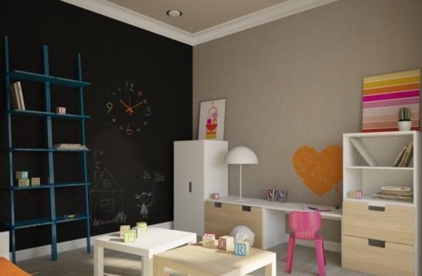 Small Wooden Tables Bedroom Childs Apartment For A Young Family