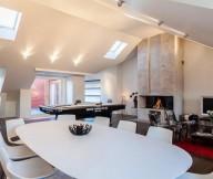 Stunning Modern Stockholm Apartment Modern Dining Room Smart Lighting