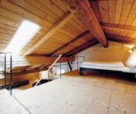 The Berge Winter Retreat Wooden Mezzanine Bedroom