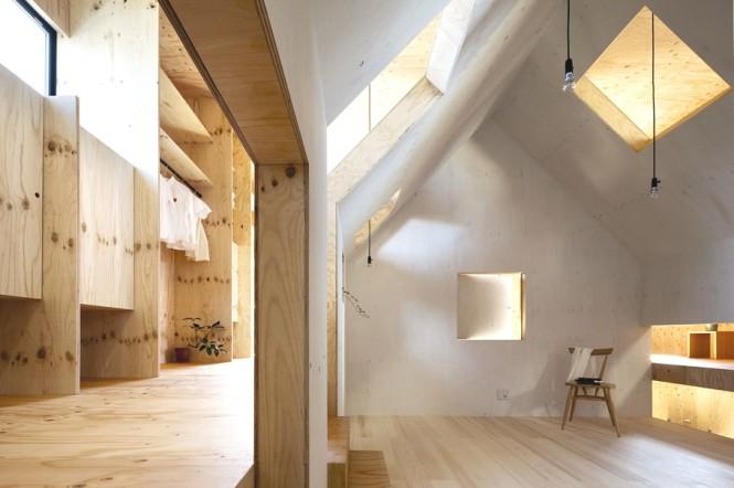 Timber Interior Design Japanese Minimalism Design Wooden Chair