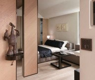 Tiny Taiwanese Apartment Modern Apartment Design Wooden Floor