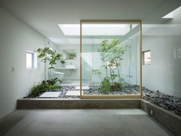 Unique Bathroom Courtyards Design Ideas Interior Courtyard