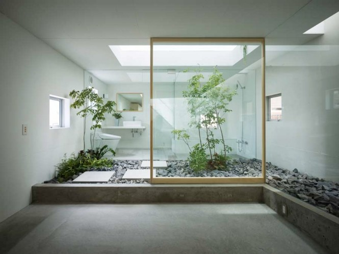 Unique Bathroom Courtyards Design Ideas Interior Courtyard