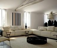 Warmth In Subtle Tones Cream Sectional Sofa Creame Sofas