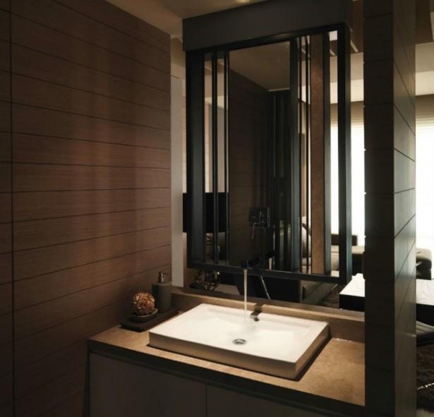 Washbasin One Modern Semi Minimilist Design White Sink