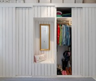 White Heirloom Apartment For Storage Solutions Design