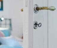 White Heirloom Apartment White Decor Details White Door