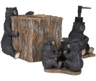 log cabin bathroom accessories sets1