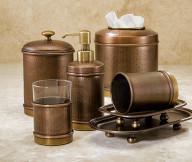 antique brass bathroom accessories sets 1