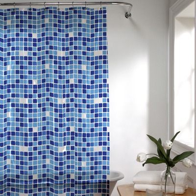blue and white bathroom accessories 2