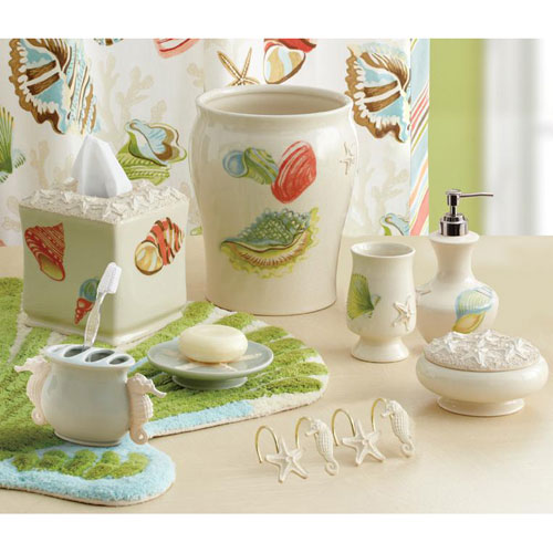 croscill bathroom accessories sets