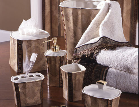 croscill bathroom accessories sets2
