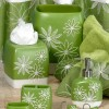 green glass bathroom accessories 2