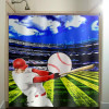 Baseball Bathroom Decor Ideas