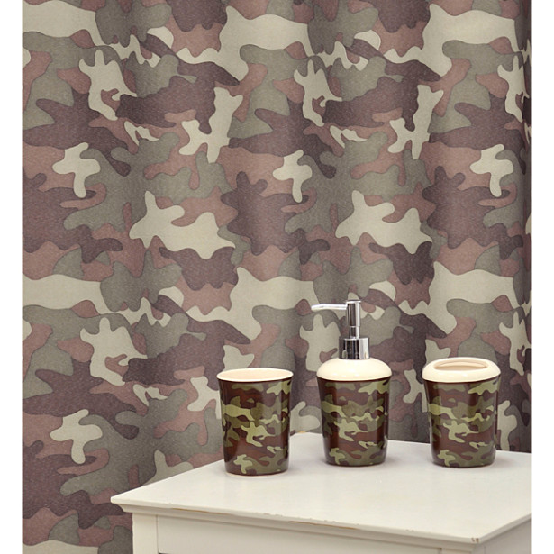 Camouflage Bathrooms