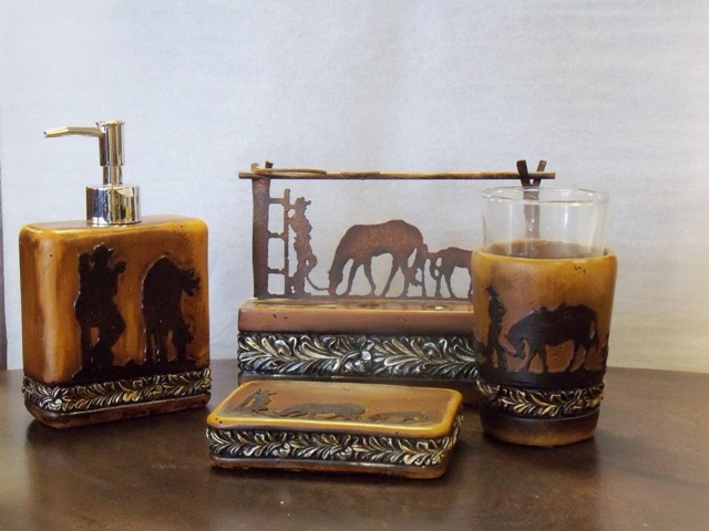 Cowboy Bathroom Sets