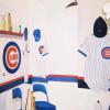 Cubs bathroom decor
