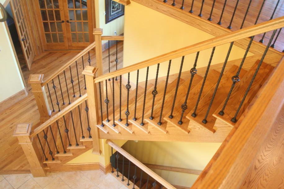 Denoyer handrails for stairs