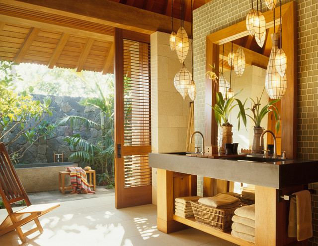 Hawaiian Bathroom Design
