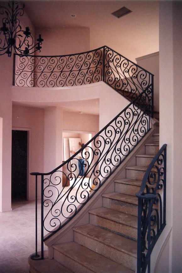 London style handrails