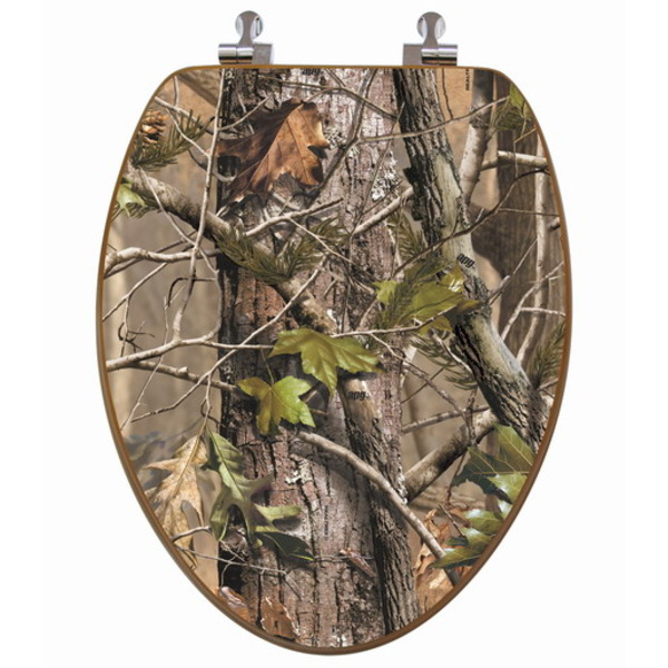 Camo Bathroom Decor Fit for a Hunter's Home : KVRiver.