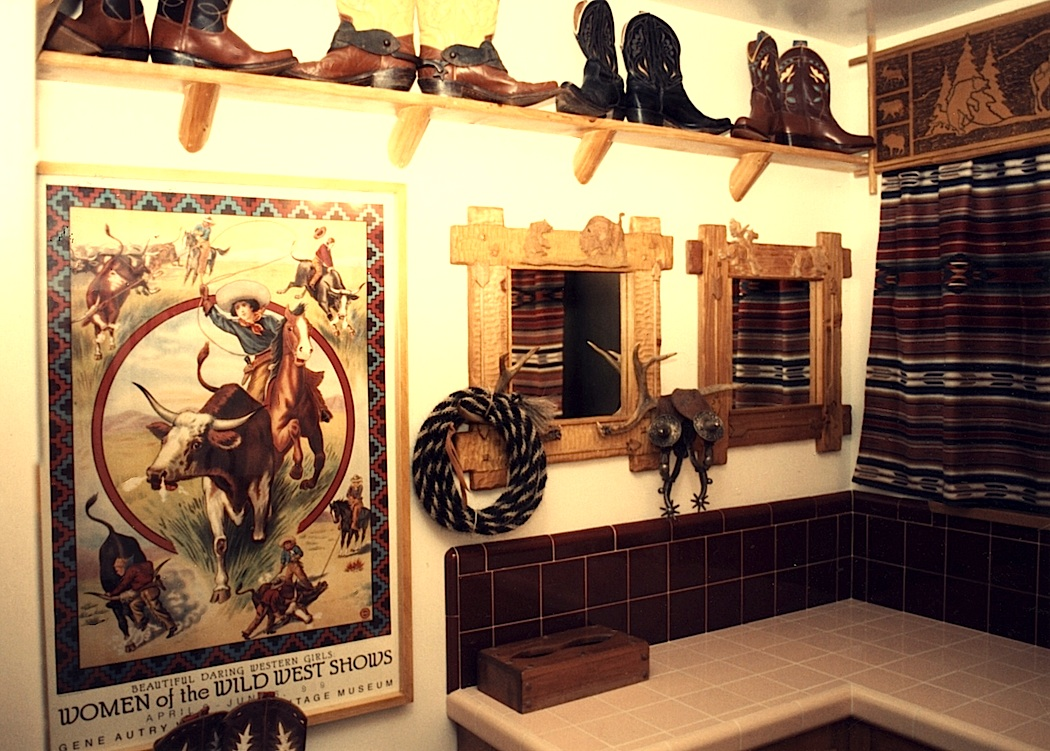 pics photos fun western cowboy decor ideas